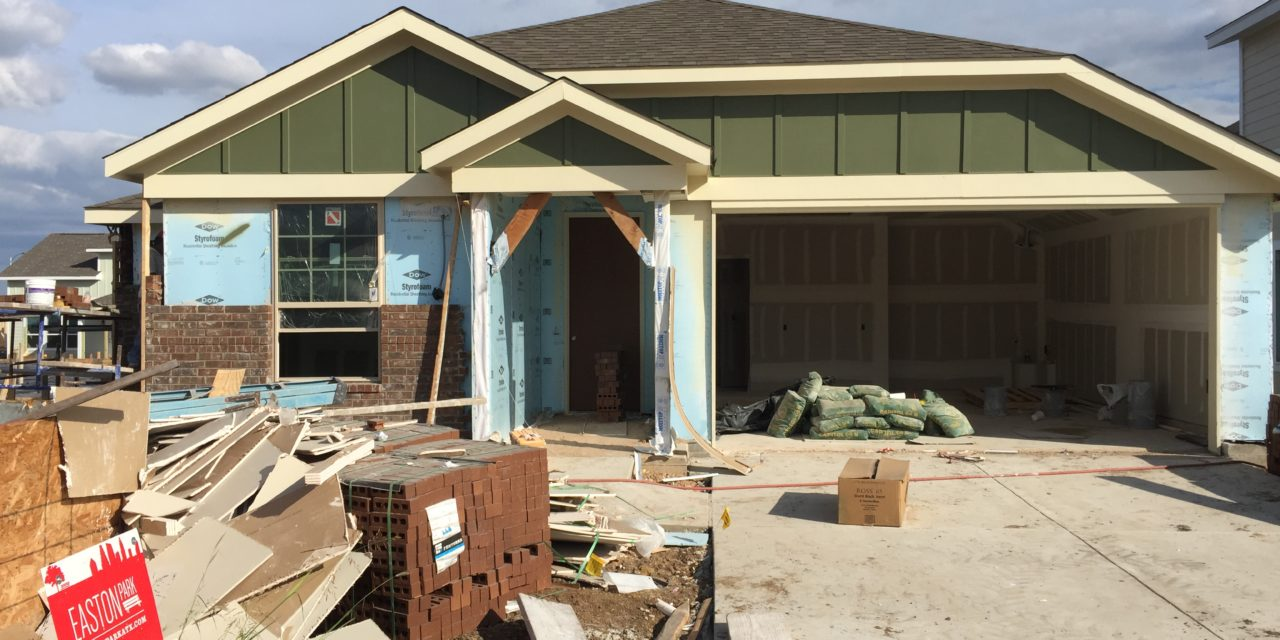 Our House – Construction Update: 10/07/16