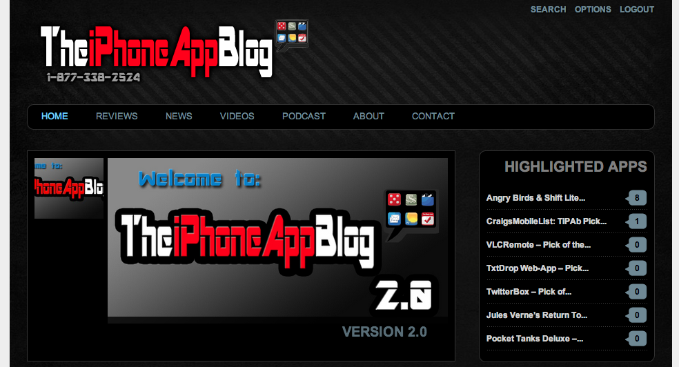 The iPhone App Blog