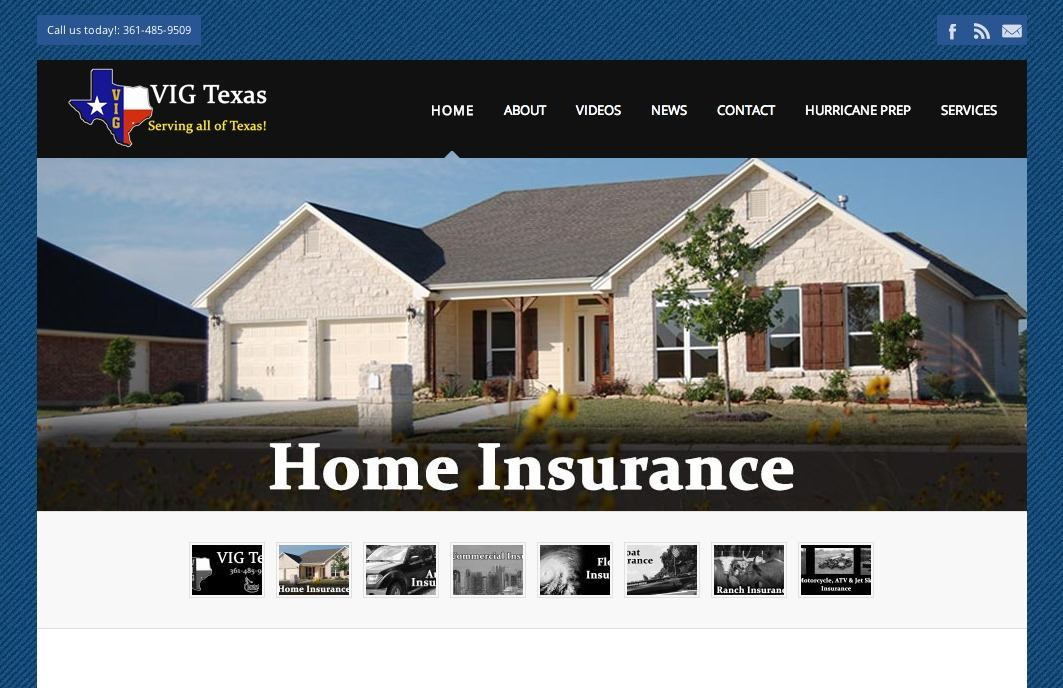 VIGTexas Website