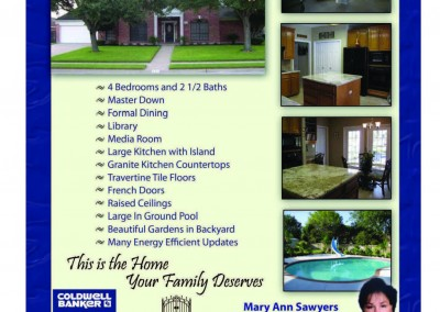 Real Estate Flyer – 111 Bloomingdale