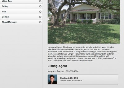 721 Lakeshore Dr – Real Estate Website