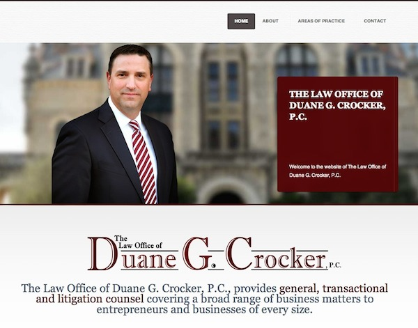 The Law Office of Duane G. Crocker