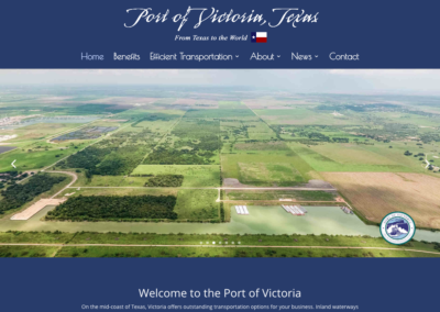 Port of Victoria – Website Design